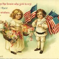 Patriotic Children