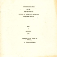 Documentary History of the Treaty of Peace between the Allied and Associated Powers and Germany
