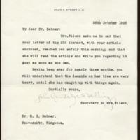 John Randolph Bolling to Richard Heath Dabney