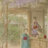 Three Women in Kimonos