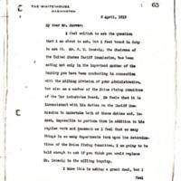 Woodrow Wilson to Herbert Hoover
