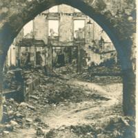Ruins in Rheims, France