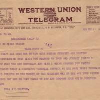 Cora W. L. Trippet to Eleanor Randolph Wilson McAdoo