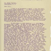 Hattie White Williams to Cary T. Grayson