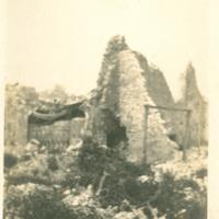 Ruins at Esnes, France