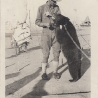 Soldier with Bear