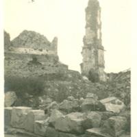 Ruins at Noyon, France