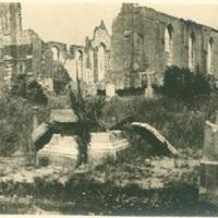 Cemetery in Nieuport, Belgium