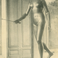 Postcard of Statue of Diane from the Musee de Tours