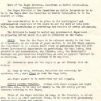 Memorandum for Carl R. Byoir