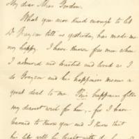 Woodrow Wilson to Alice Gertrude Gordon Grayson