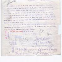 Mrs. BV Leach to Woodrow Wilson