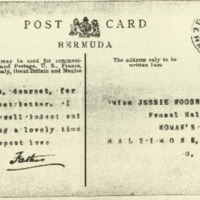 Woodrow Wilson to Jessie Woodrow Wilson Sayre