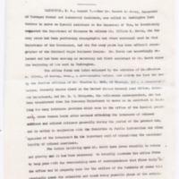 Press Release on the Office of Emmett J. Scott