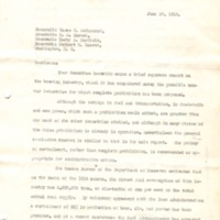 Report on Brewing of the War Trade Board Committee