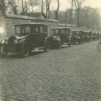 Parked Automobiles on Rue Nitot Street, Paris