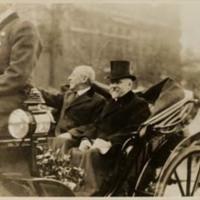 Woodrow Wilson and Raymond Poincaré