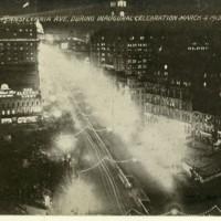 Night Scene on Pennsylvania Ave.
