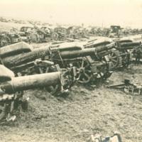 Captured German Mortars