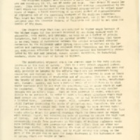 Proclamation to the People on the High Cost of Living