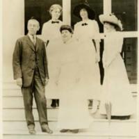 Woodrow Wilson, Jessie Woodrow Wilson Sayre, Ellen Axson Wilson, Eleanor Randolph Wilson McAdoo, and Margaret Woodrow Wilson