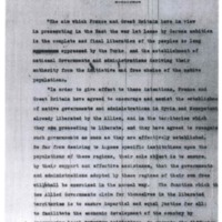 Anglo-French Declaration