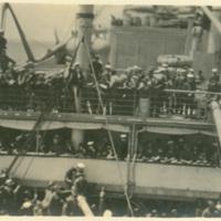 Sailors aboard a Ship