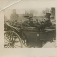 John J. Pershing and Cary T. Grayson in an Open Carriage