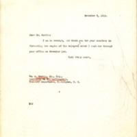 Benjamin Strong Jr. to William A. Morris Jr.