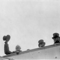 Woodrow Wilson Arrives in Hoboken, NJ Aboard George Washington