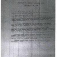 Telegram from Admiral Knight