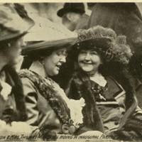 Ellen Axson Wilson and Mrs. Marshall