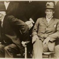 Woodrow Wilson and Judson Harmon