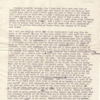 Margaret Woodrow Wilson to Eleanor Randolph Wilson McAdoo