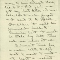 Margaret Axson Elliott to Jessie Woodrow Wilson Sayre