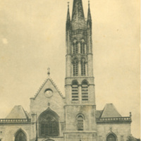 Postcard of the Church of St. Peter in Limoges.