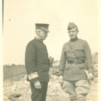 Admiral Knoff and Colonel Moore