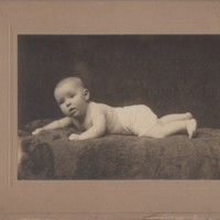 Infant Bertha Francis Brown