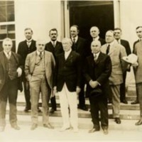 Woodrow Wilson with A. Mitchell Palmer, and the Attorneys General of Seven States