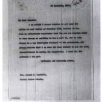 Woodrow Wilson to Joseph E. Randall