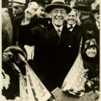 Woodrow Wilson at the World Series