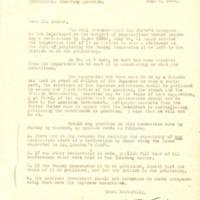 Stanley K. Hornbeck to R. Emmet Condon
