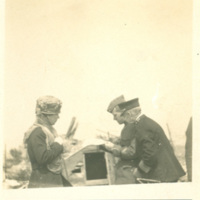 Admiral Knoff and Colonel Moore Argue About Hill No. 304