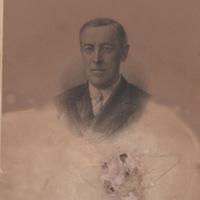 Signed Portrait of Woodrow Wilson