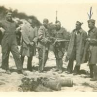Edward D. Shoor and Soldiers in Belgium
