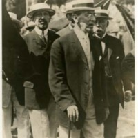 Woodrow Wilson with Princeton Classmates at the Yale-Princeton Baseball Game