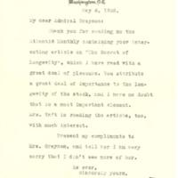 William Howard Taft to Cary T. Grayson