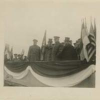 Woodrow Wilson and John J. Pershing in France