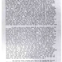Extracts from Letter of General Bliss