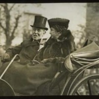 Woodrow Wilson and Edith Bolling Wilson at the Burial of the Unknown Soldier